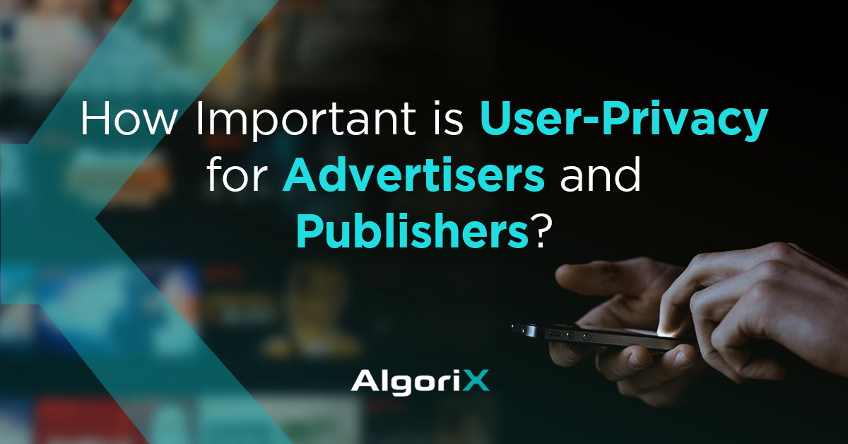 "Banner image with text ""How important is user privacy for advertisers and publishers?"""